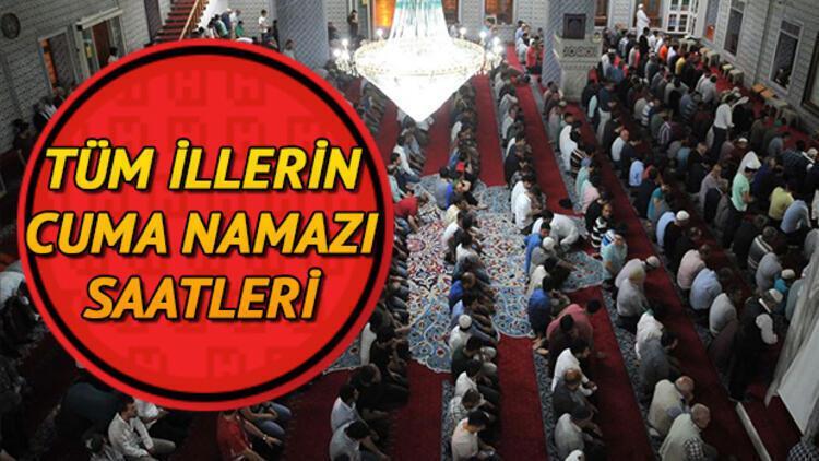 Cuma namazı saat kaçta kılınacak? Diyanet 15 Ocak İstanbul, Ankara, İzmir ve il il cuma namazı saatlerini yayımladı