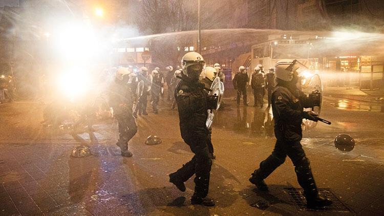 Belçika'da polise büyük öfke
