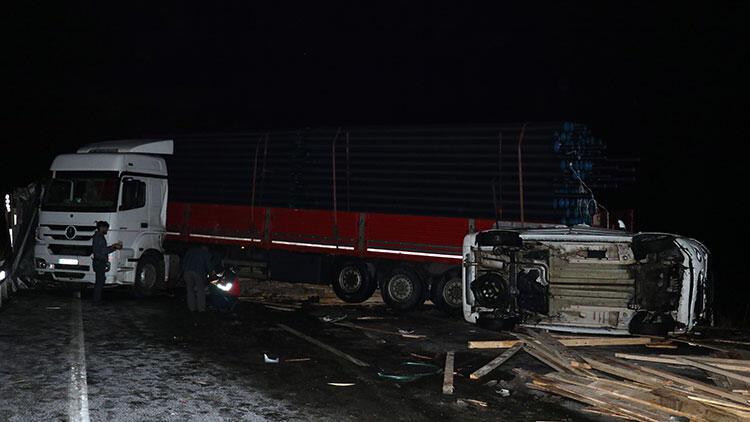 Ağrı'da zincirleme kaza: 3 yaralı