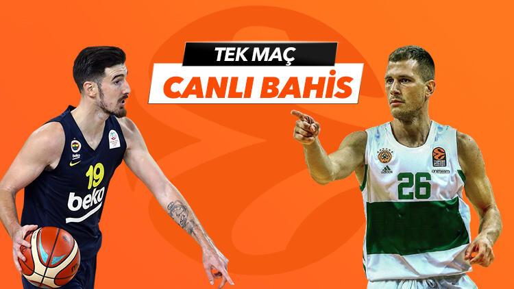 Fenerbahçe Beko'nun konuğu Panathinaikos! Canlı yayın ve canlı iddaa Misli.com'da...
