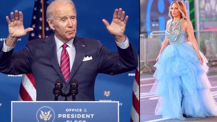 """Biden'ı  Lady Gaga ve Jennifer Lopez """"karşılayacak"""""""