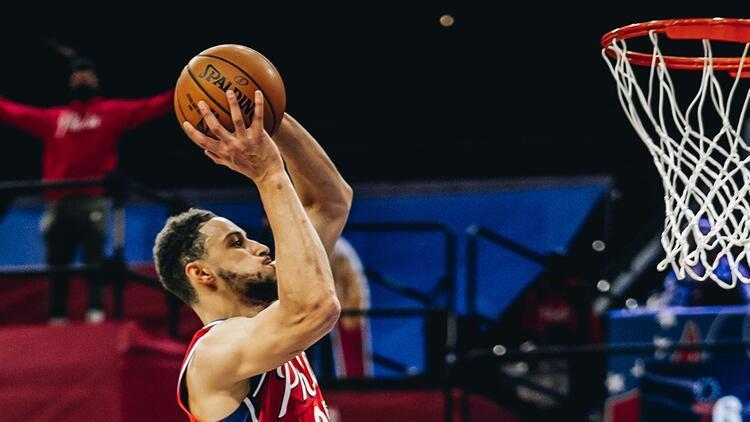 NBA'de Gecenin Sonuçları | 76ers, Heat'i mağlup etti, Simmons tarihe geçti!