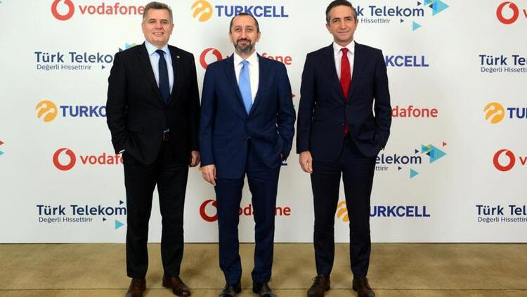 Turkcell, Türk Telekom ve Vodafone'dan önemli iş birliği