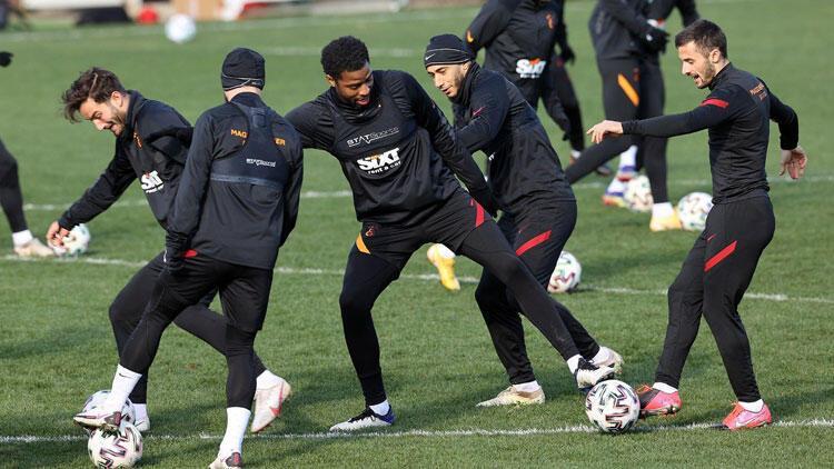 Galatasaray derbi hazırlıklarına devam etti