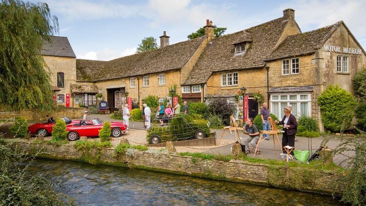 Gezginlerin en çok  fotoğrafladığı İngiliz köyü
