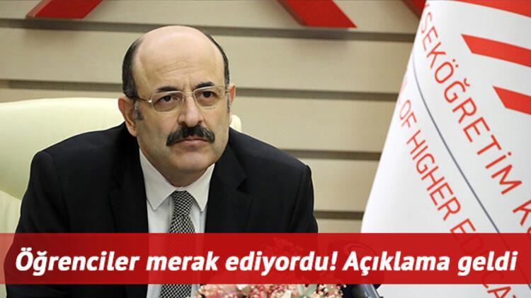 Üniversiteler ne zaman açılacak? YÖK Başkanı Prof. Dr. Yekta Saraç'tan Hürriyet'e özel açıklama