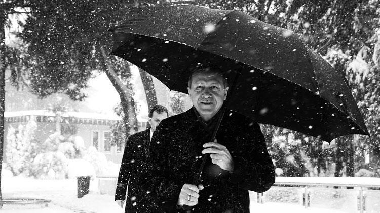 Cumhurbaşkanı Erdoğan'dan kar paylaşımı