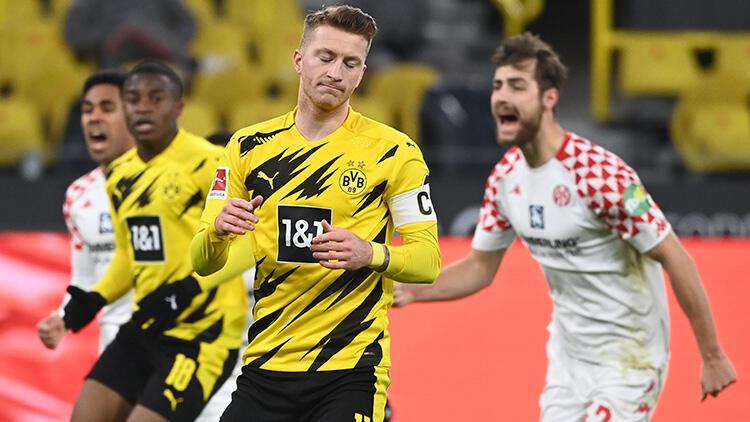 Borussia Dortmund, Mainz engeline takıldı: 1-1