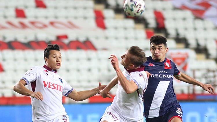 Antalyaspor 1-1 Trabzonspor (Maçın özeti)