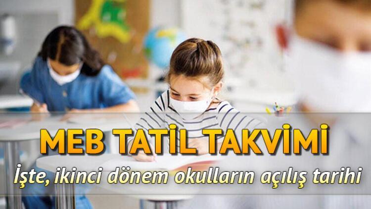Okullar ne zaman açılacak? 15 tatil 25 Ocak'ta başlıyor! İşte 2021 MEB tatil ve ikinci dönem takvimi