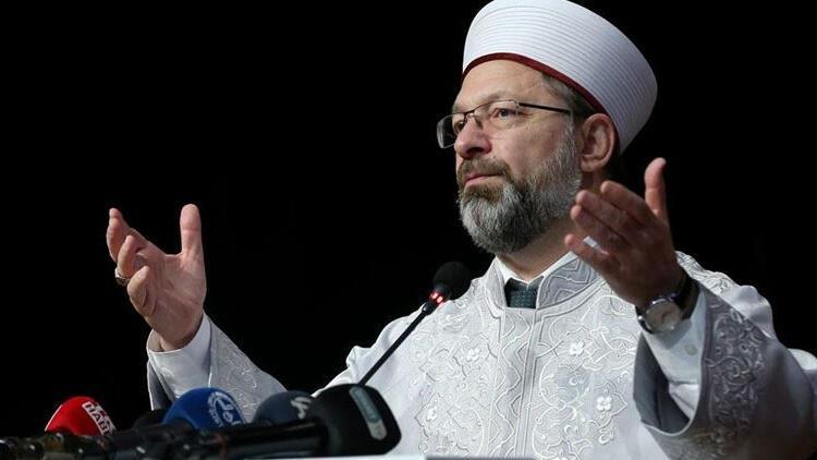Diyanet İşleri Başkanı Erbaş'tan Yunanistan Başpiskoposuna tepki!