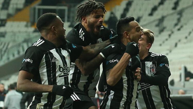 Beşiktaş 2-0 Galatasaray (Maçın özeti)
