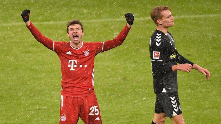 Bayern Münih, sahasında Freiburg'u 2-1 yendi