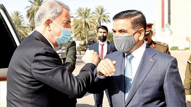 Akar ve Güler Bağdat'ta: Bölgemizde zorlukları birlikte yenebiliriz