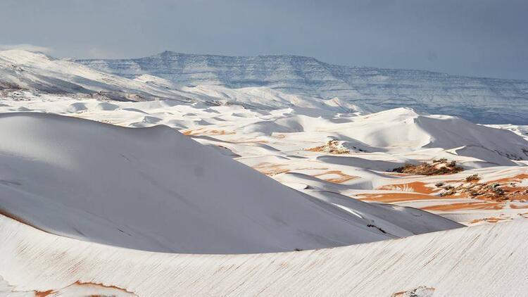 Sahra Çölü'ne kar yağdı - Sahra Çölü nerede?