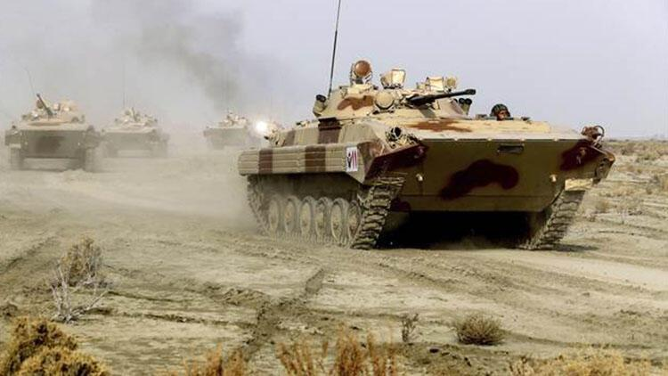 İran'dan geniş çaplı tatbikat, çok sayıda asker katıldı...
