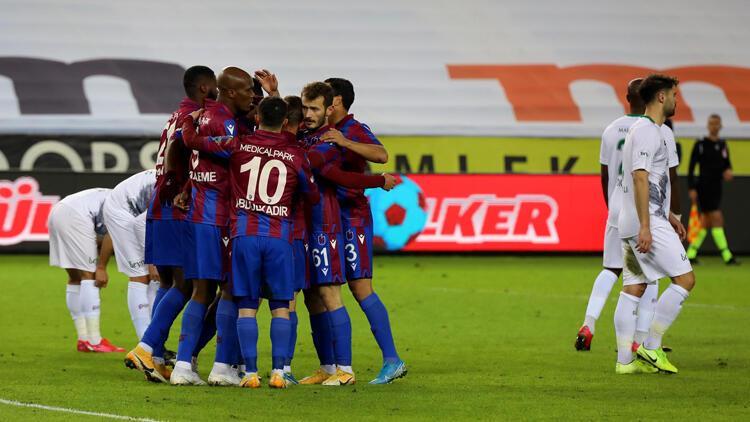 Trabzonspor 3-1 Konyaspor / Maçın özeti ve golleri