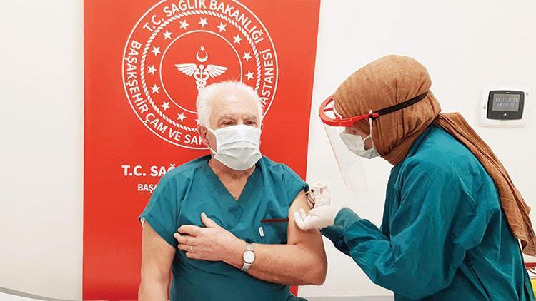 Doğu Perinçek Çin aşısı yaptırdı