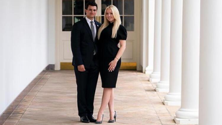 Trump'ın Beyaz Saray'daki son gününde kızı Tiffany nişanlandı