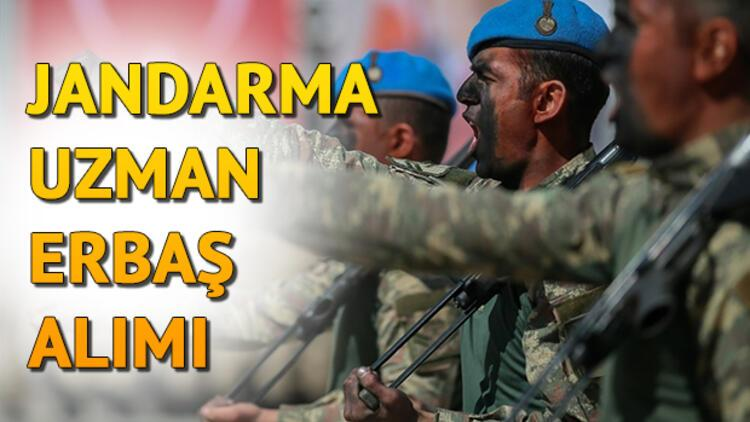 Uzman çavuş alımı için başvuru tarihi belli oldu! 5000 Jandarma uzman erbaş alımı başvuru şartları ve koşulları