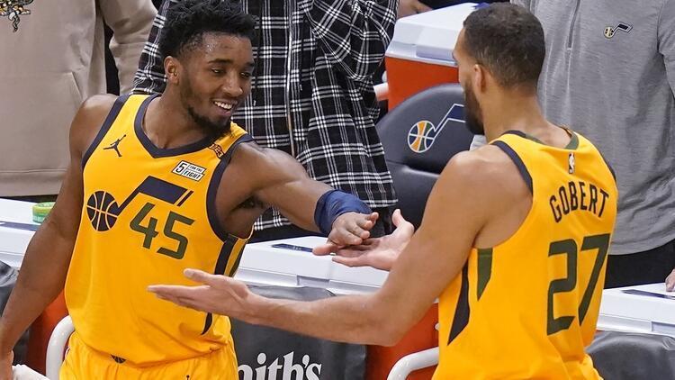 NBA'da Gecenin Sonuçları  Jazz, galibiyet serisini 6 maça çıkardı!