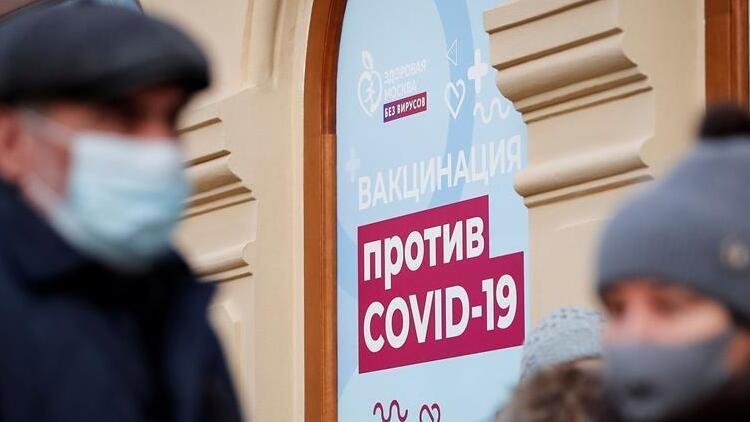 Rusya'da son 24 saatte 21 bin 152 vaka