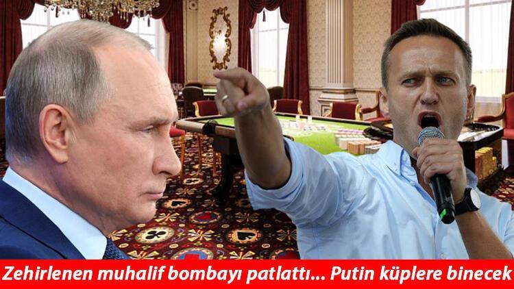 Putin ile ilgili flaş iddialar... Navalni paylaştı ortalık yıkıldı!