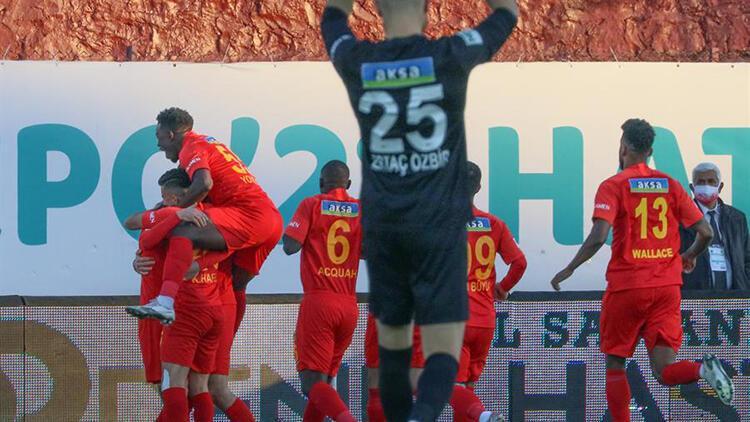 Hatayspor 1 - 2 Yeni Malatyaspor / Maçın özeti ve golleri