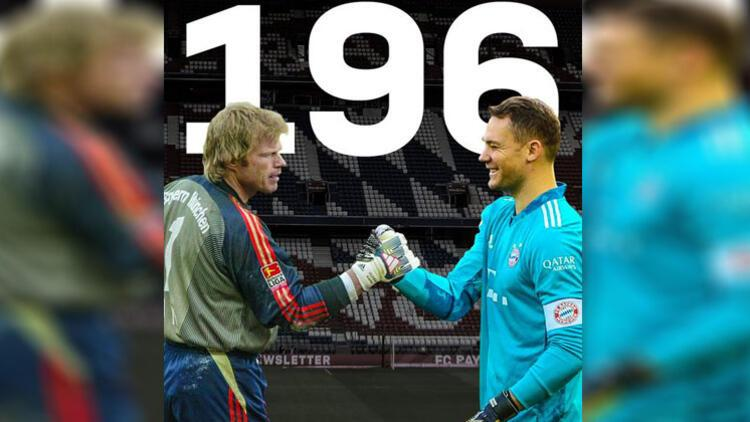 Manuel Neuer'den rekor