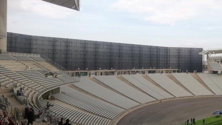 Atatürk Olimpiyat Stadı'nda rüzgar önlemi! Paneller...