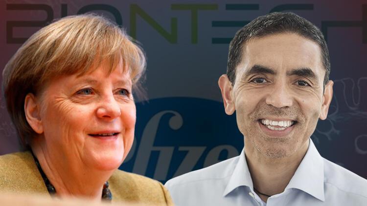 Almanya Başbakanı Merkel'den flaş Uğur Şahin açıklaması...