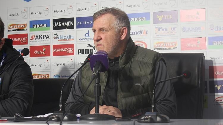 Mesut Bakkal: 'Oyundan memnunum ama sonuçta değil'