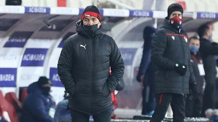 Sivasspor Teknik Direktörü Rıza Çalımbay'dan Fenerbahçe maçı yorumu! 'Galibiyetle ayrılabilirdik'