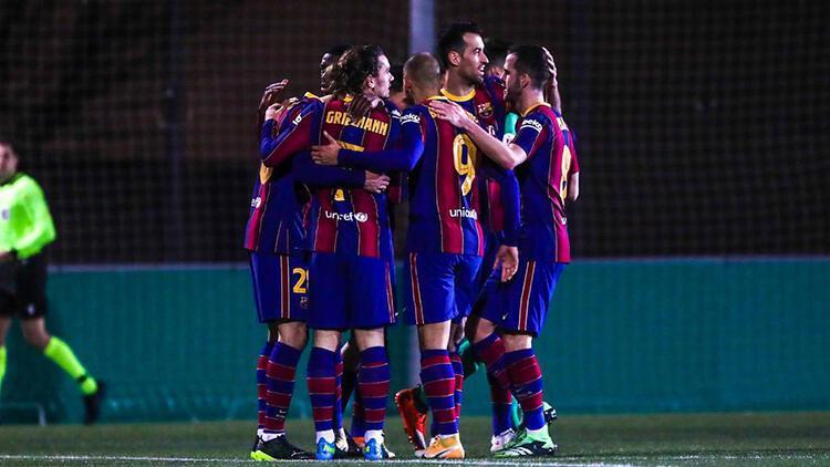 Barcelona Kral Kupası'nda ilk 16'ya kaldı