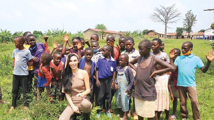 Afrika'da 800 aileye  yardım etti