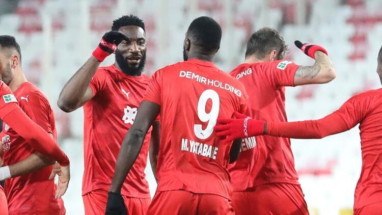 Sivasspor'da Mustapha Yatabare 6 hafta sonra gol sevinci yaşadı!