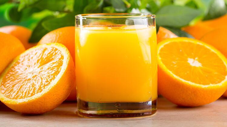 Soğuk Havalarda Portakal Suyu İçin! Bakın Nasıl Fayda Sağlıyor...