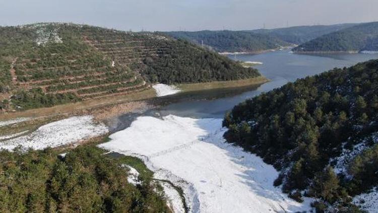İstanbul'da barajların doluluk oranı yüzde 31.39'a çıktı