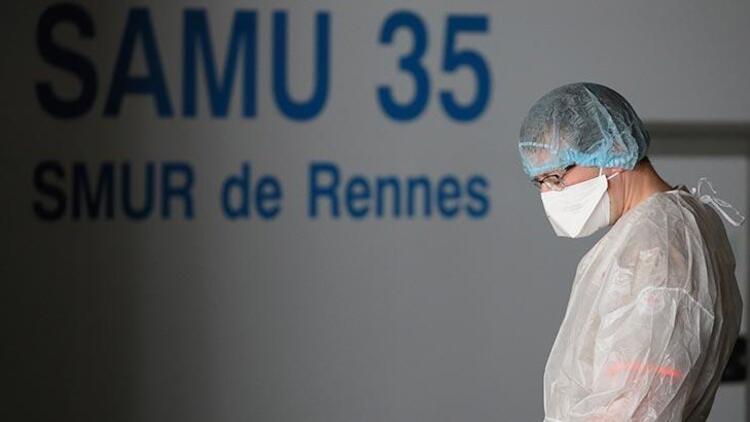 Fransa'da koronavirüs vaka sayısı 3 milyonu geçti