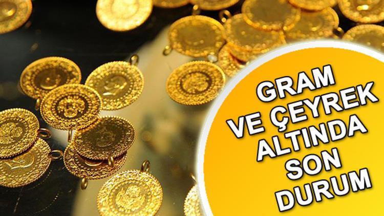Altın fiyatları ne kadar oldu? İşte gram ve çeyrek altın alış- satış fiyatı