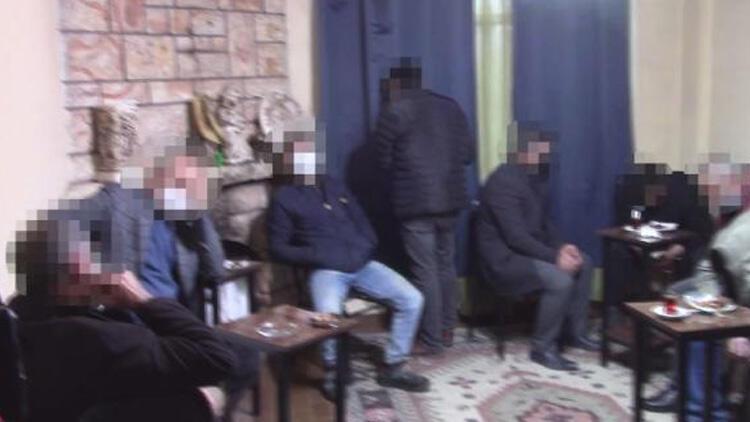 Silivri'de jandarmadan kumar baskını! 11 kişiye 52 bin 855 TL ceza