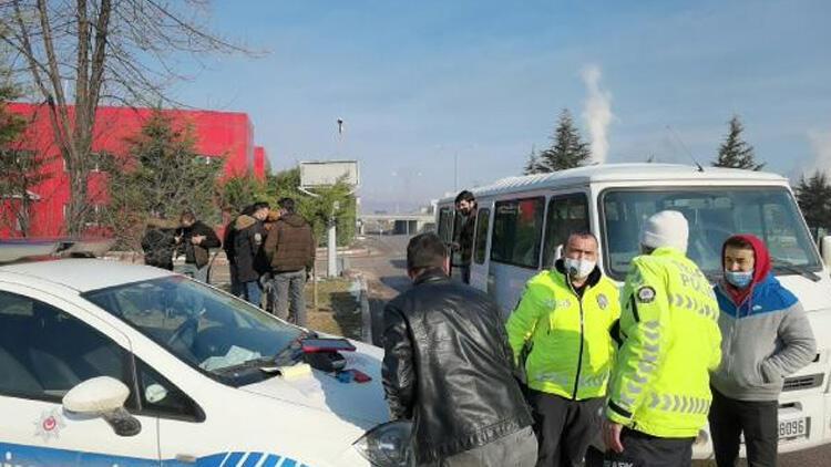 Polis durdurunca ortaya çıktı! Trafikten men edildi