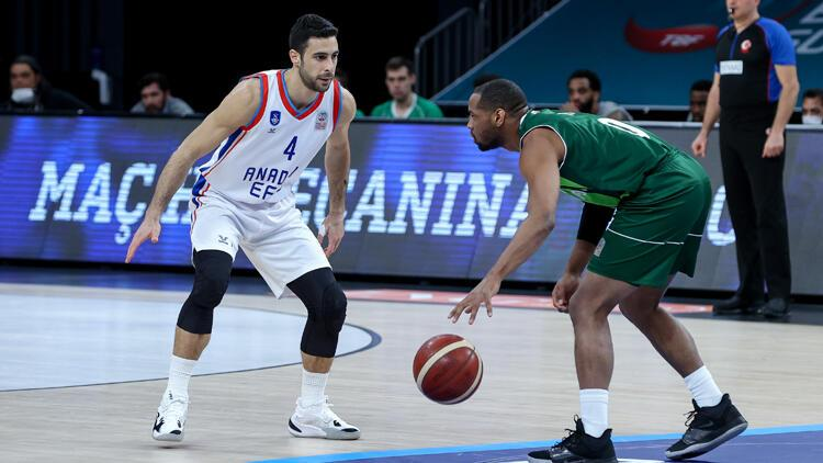 ING Basketbol Süper Ligi - Anadolu Efes: 95 - OGM Ormanspor: 75