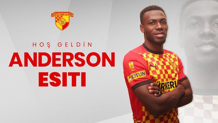 Göztepe, Nijeryalı futbolcu Anderson Esiti'yi sezon sonuna kadar kiraladı