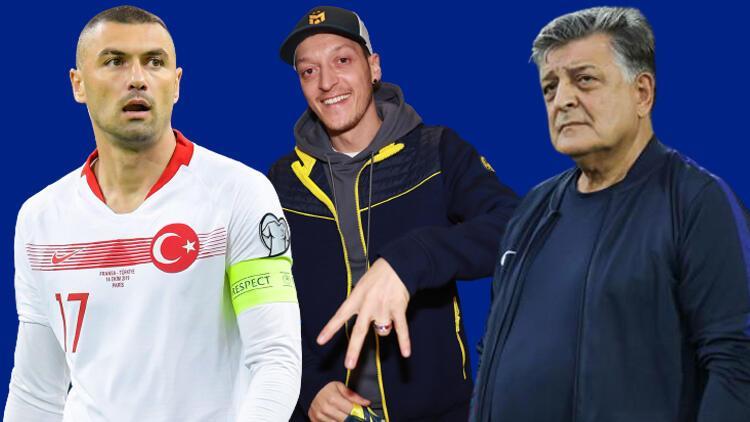 """Burak Yılmaz'a olay Mesut Özil cevabı! """"Hamaset yapmayın, bir hata varsa o da..."""""""