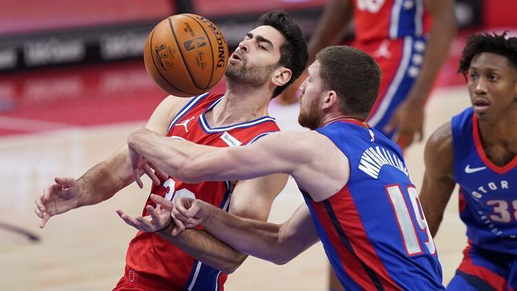 NBA'de Gecenin Sonuçları | 76ers, Pistons deplasmanında kazandı! Furkan'dan 8 sayı...
