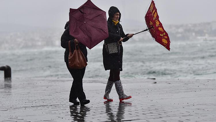 Son dakika: Meteoroloji'den İstanbul için sarı kodlu uyarı yapıldı