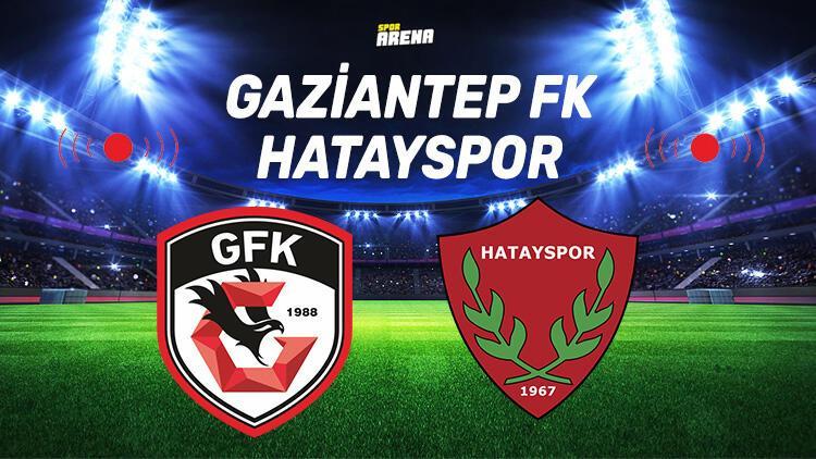 Gaziantep Hatayspor maçı saat kaçta, hangi kanalda? Hatayspor, Gaziantep FK'ye konuk olacak