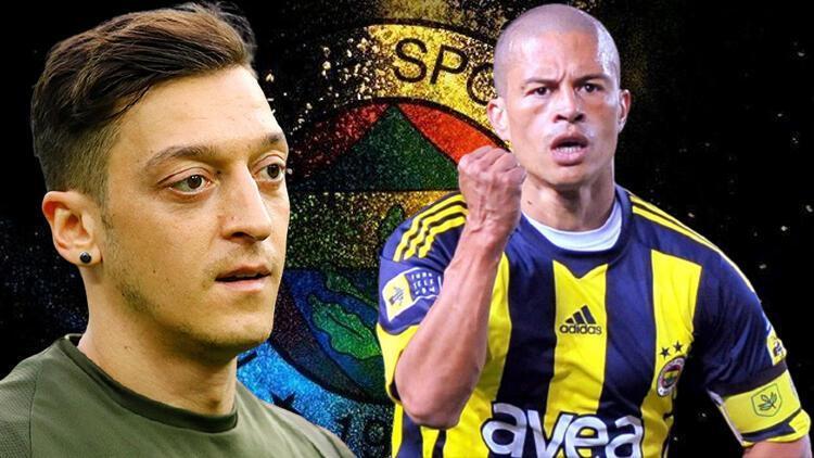 Fenerbahçe'nin efsanesi Alex de Souza'dan Mesut Özil mesajı!