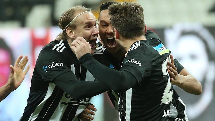 Beşiktaş 2-1 Göztepe (Maçın özeti ve golleri)